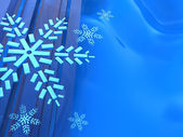 Snowflakes background — Stockfoto