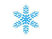 Kar tanesi — Stok fotoğraf