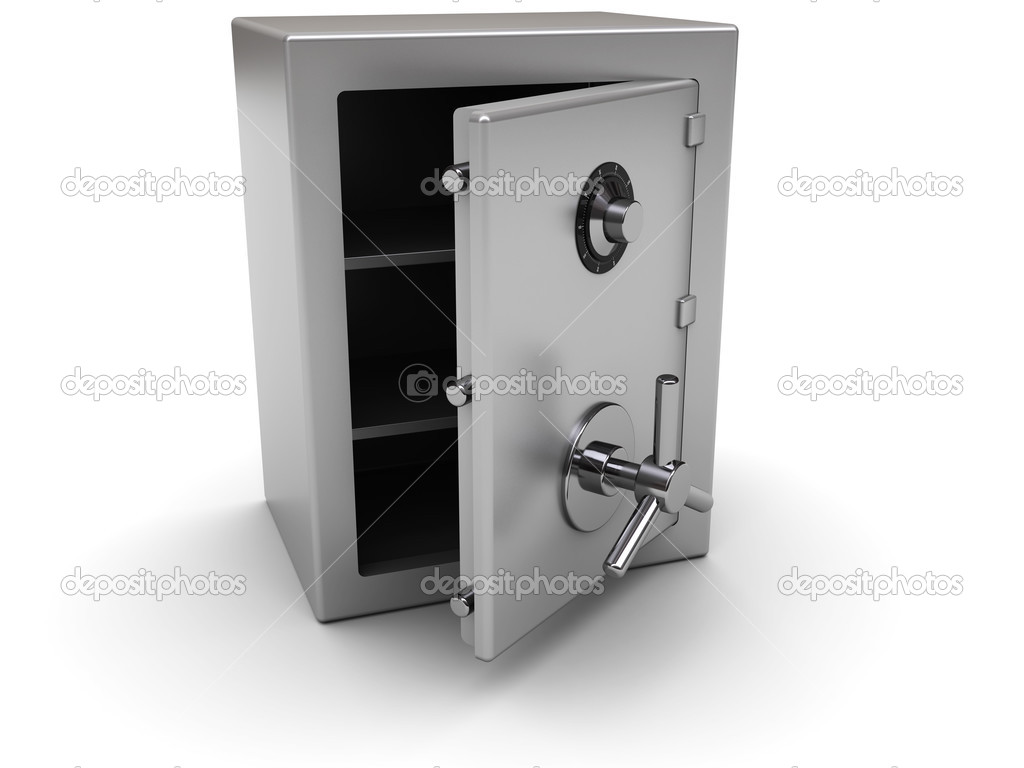 Opened safe — Stock Photo © mmaxer #3554965