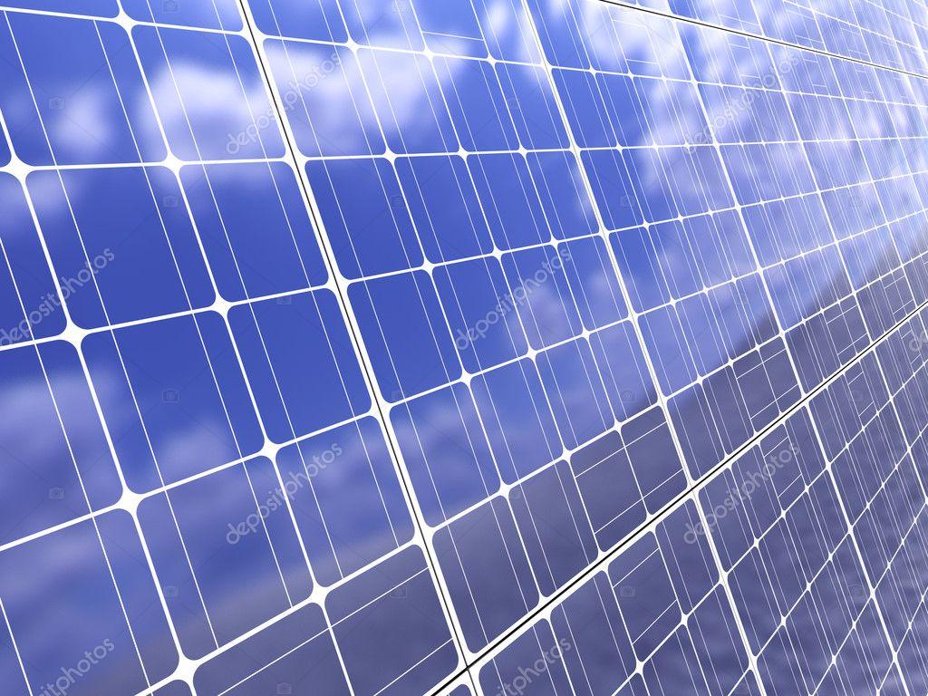 solar panel background - photo #16