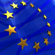 European flag background — Stock Photo