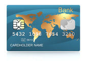 Plastic card — Stock Photo
