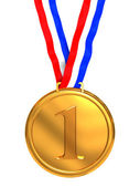 First place medal — Stock Photo
