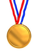 Golden medal — Stock Photo