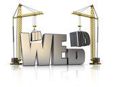 Web construction — Stock Photo