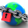 Royalty-Free Stock Photo: Locked earth