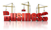 Building business — Stock Photo