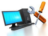 Computer service — Stock Photo