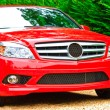 Red Luxury Car — Stock Photo #3625334