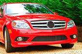 Red Luxury Car — Stock Photo