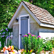Small Garden Shed — Stock Photo #3802255
