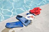 Zwemmen apparatuur van de opleiding — Stockfoto