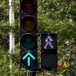 Green light — Stock Photo
