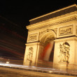 Stock Photo: Slow shutter speed shot , Paris