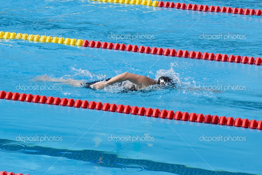 Swimmer — Stock Photo #3507260