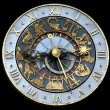 Royalty-Free Stock Photo: Astrological clock