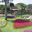 Thailand, Pattaya. A botanical garden of Nong Nuch. — Stock Photo