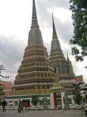 Thailand, Bangkok, royal palace. Temples in territory. — Stock Photo