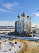 Church building in the city of Magadan, Russia. — Stock Photo