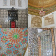 Four photos of interior of museum of Bardo, Tunis. — Stock Photo #3556744