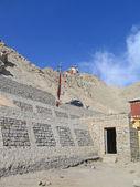 Ladakh, india, capital leh, montaña amueblar. — Foto de Stock