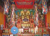Ladakh, India, capital Leh, an interior in a monastery. — Stock Photo