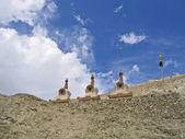 Ladakh, India, Mortars in Hamayuru, based in X century. — Stock Photo