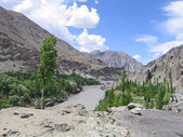 Ladakh, India, the river Ind in mountains. — Stock Photo