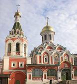 Fragment av en katedral av kazan gudomliga moder, moskva — Stockfoto