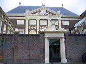 The Netherlands, museum in the city of Leiden — Stock Photo