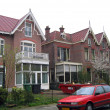 The Netherlands, the house in the city of Haarlem. - Stock Photo