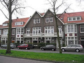 The Netherlands, on city streets of Haarlem. — Stock Photo