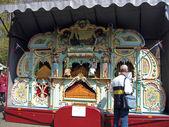 Haarlem, holanda. un órgano de calle en un jardín botánico — Foto de Stock