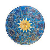 Horoscope wheel — Stock Photo