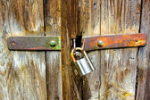 Rusty padlock — Stock Photo