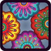 Flower_ ornament — Stock Vector