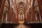 Catholic church inside — Stock Photo