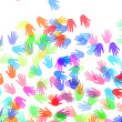 Royalty-Free Stock Photo: Hands of different colors