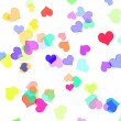 Royalty-Free Stock Photo: Hearts of different colors