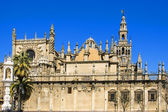 Seville Cathedral, Spain — 图库照片
