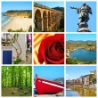 Royalty-Free Stock Photo: Catalonia collage