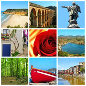 Catalonia collage — Stock Photo