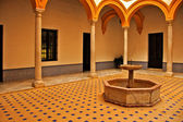 Alcazar of Seville, in Spain — Foto Stock