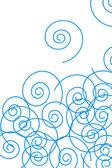 Mavi spiraller — Stok fotoğraf