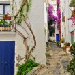 Stock Photo: Street of Cadaques, Spain