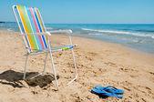 夏季海滩上 — 图库照片