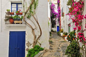 A street of Cadaques, Spain — Photo