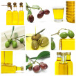 Stock Photo: Olive oil collage