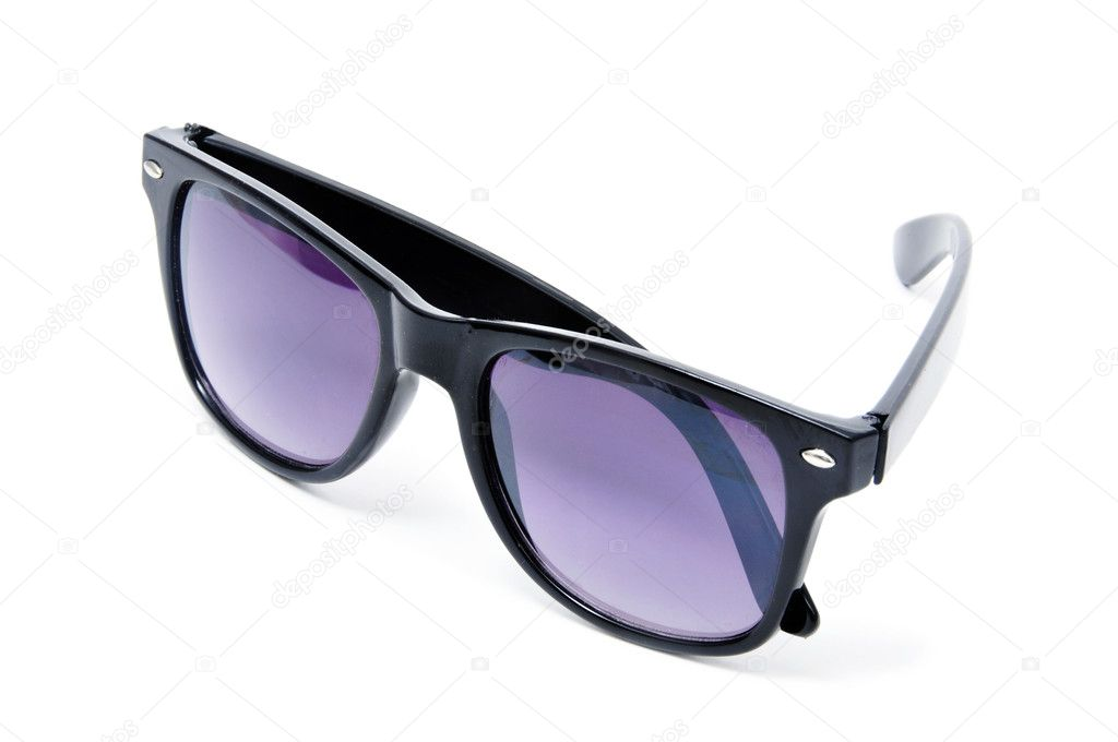Sunglasses isolated on a white background — Stock Photo #3679969