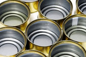 Empty cans — Stockfoto